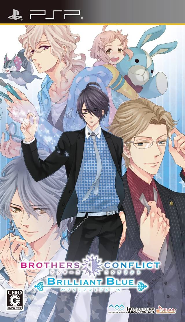 21+ Brothers Conflict Game  PNG